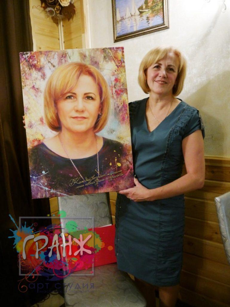 Портрет на заказ Бишкек