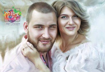 Где заказать портрет по фотографии на холсте в Бишкеке?