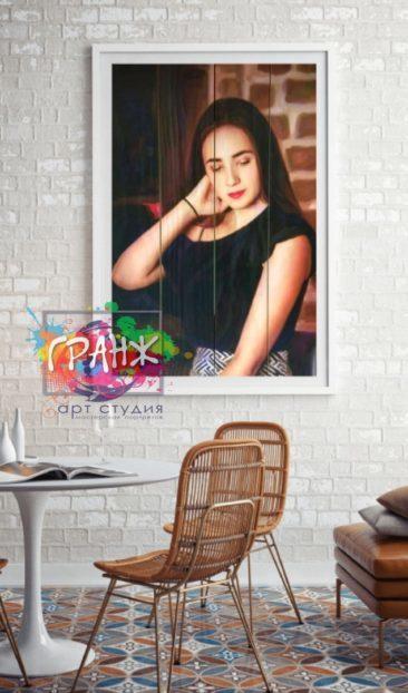 Картины на досках купить в стиле лофт Бишкек